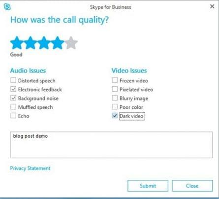 Skype Customer Feedback Survey