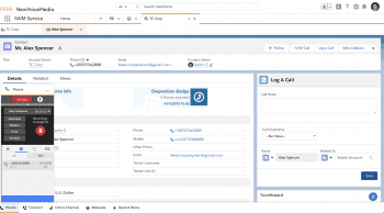 Click-to-dial from within Salesforce