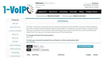 1-Voip Voice Mail Overview