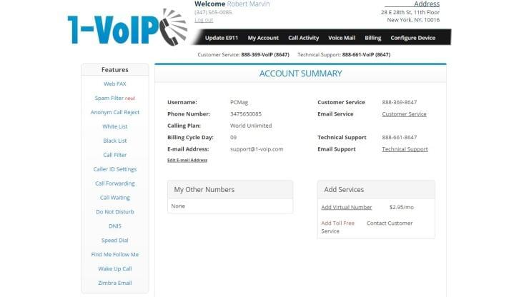 1-voip sip trunking