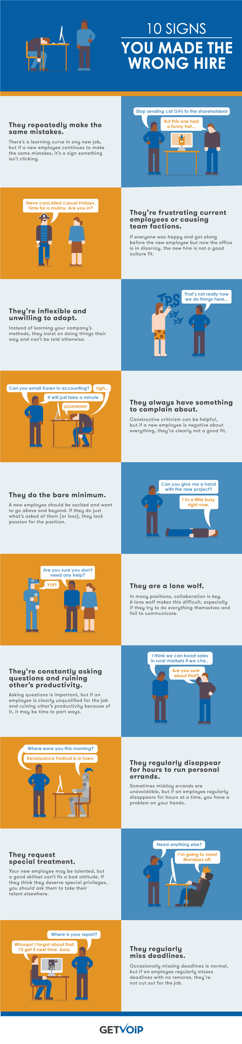 10 Signs You Made the Wrong Hire