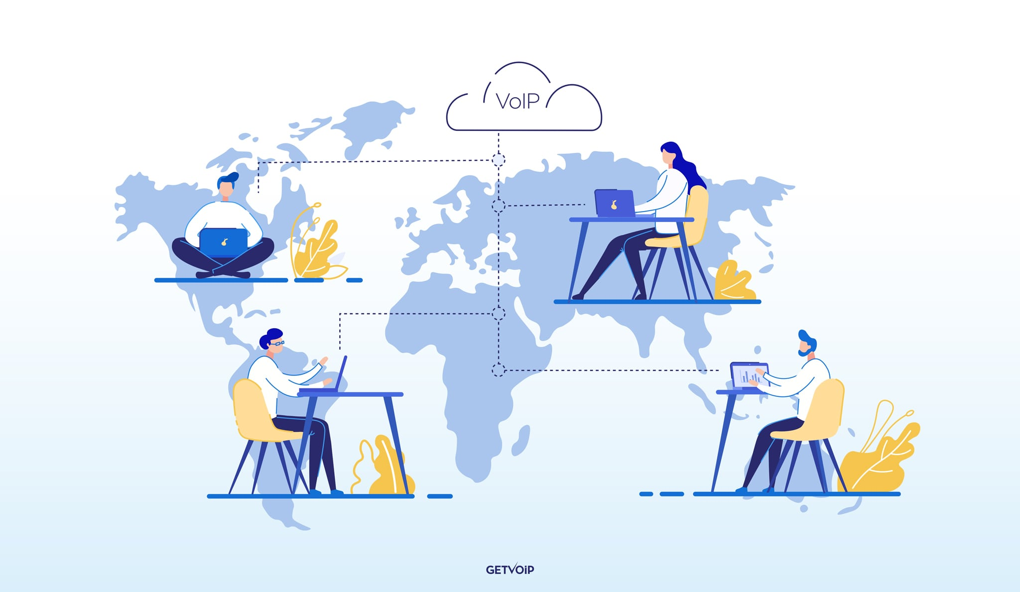 8 Major Advantages of VoIP For Businesses