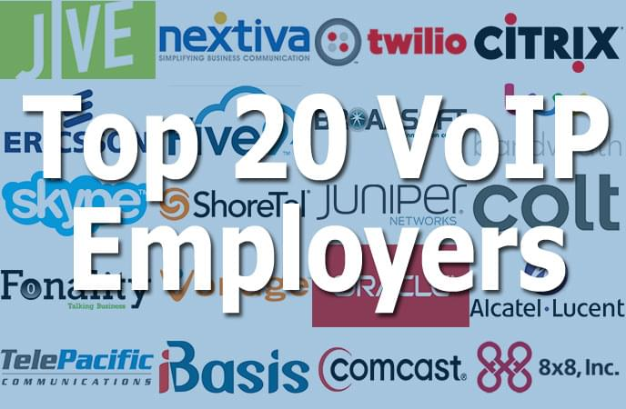 The Best VoIP Companies to Work for in 2014