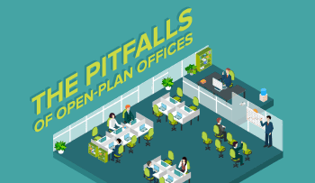 The Detrimental Pitfalls of Open-Plan Offices [Infographic]