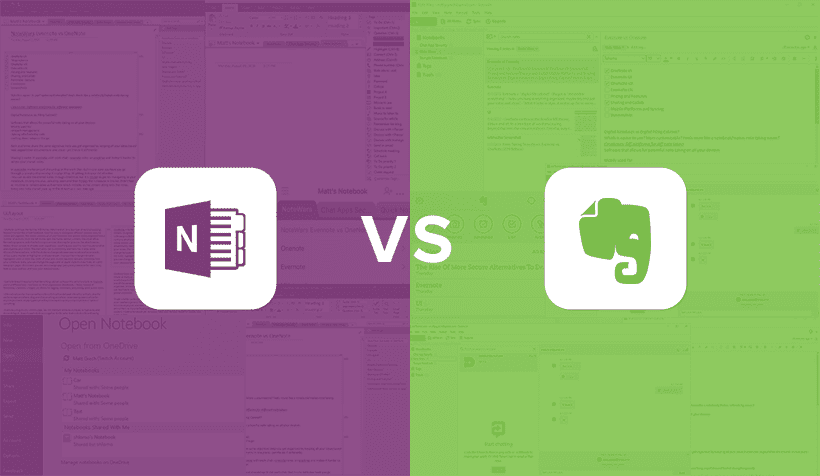 Note App Wars: OneNote vs Evernote Showdown