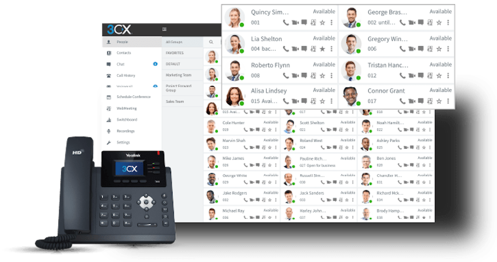 3cx Virtual telephony