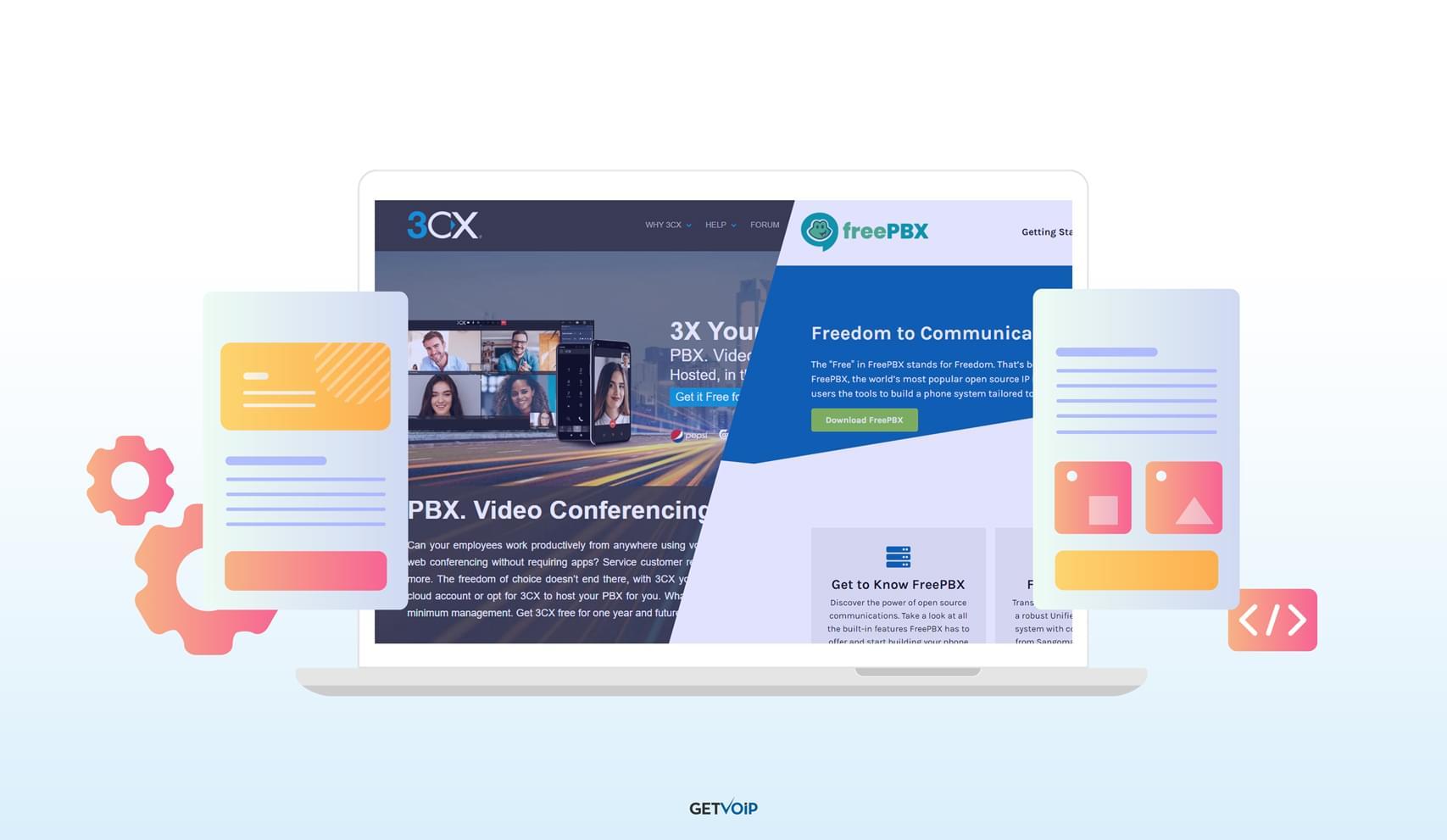 3CX vsFreePBX: A Complete Comparison