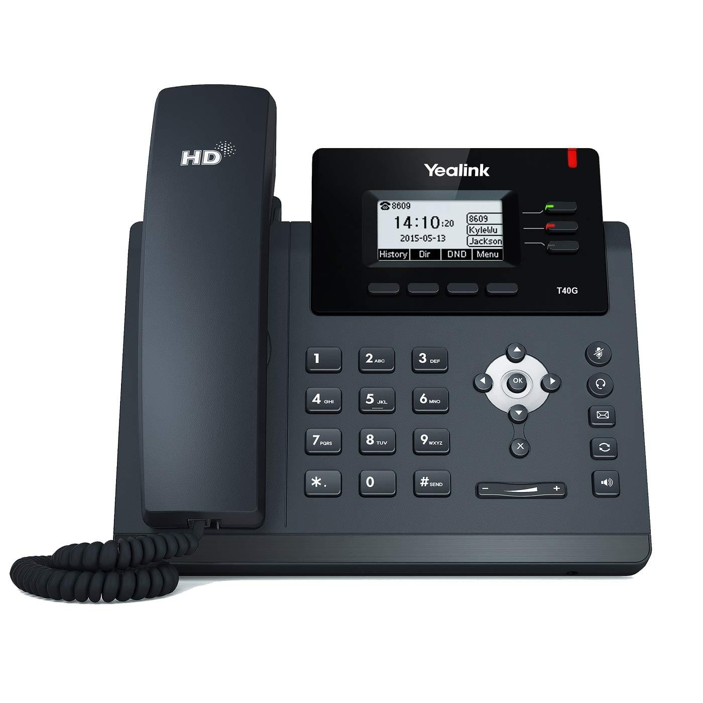 Yealink 3 line business voip phone