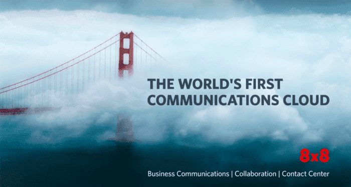 8×8 Didn't Go For Sale Yet, But Instead Introduced A New Communications Cloud