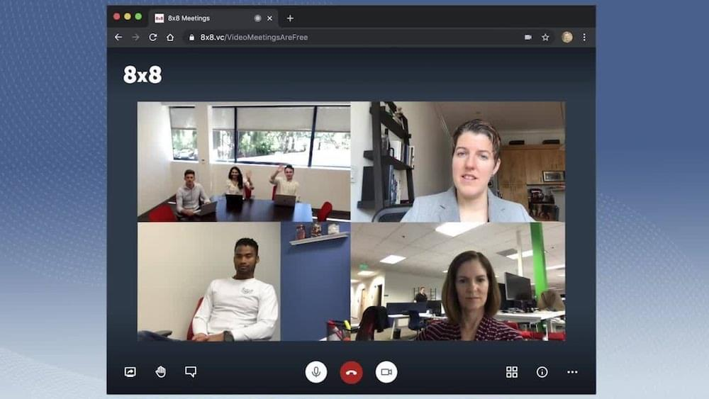 8x8-Video-Conferencing