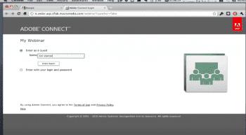 Entering Webinar