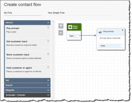 Amazon Connect Contact Flow Creation