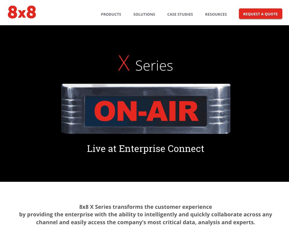 8×8 Introduces New X Series Platform to Transform Enterprise Communications