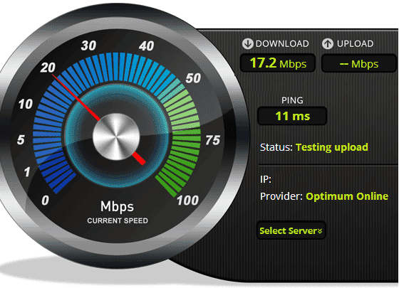 internet speedometer test software free