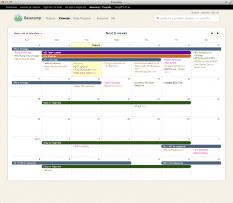 Basecamp Calendar Overview