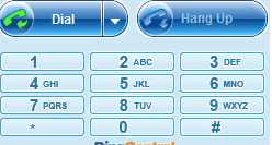 RingCentral Call Controller Keypad and Dial