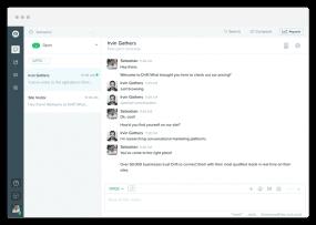 Drift Messaging Dashboard