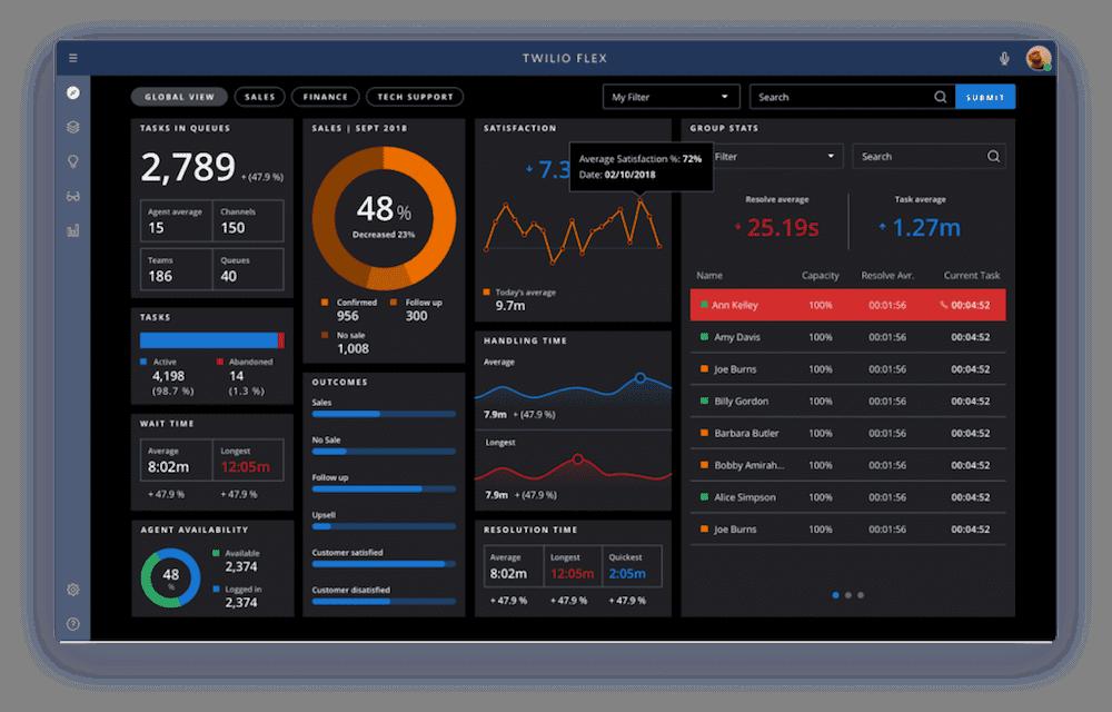 flex interface