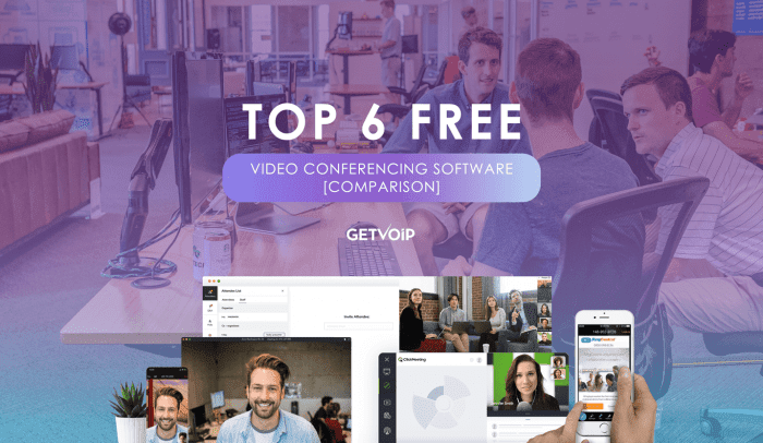 Top 6 Free Video Conferencing Software for Small Businesses [Comparison]