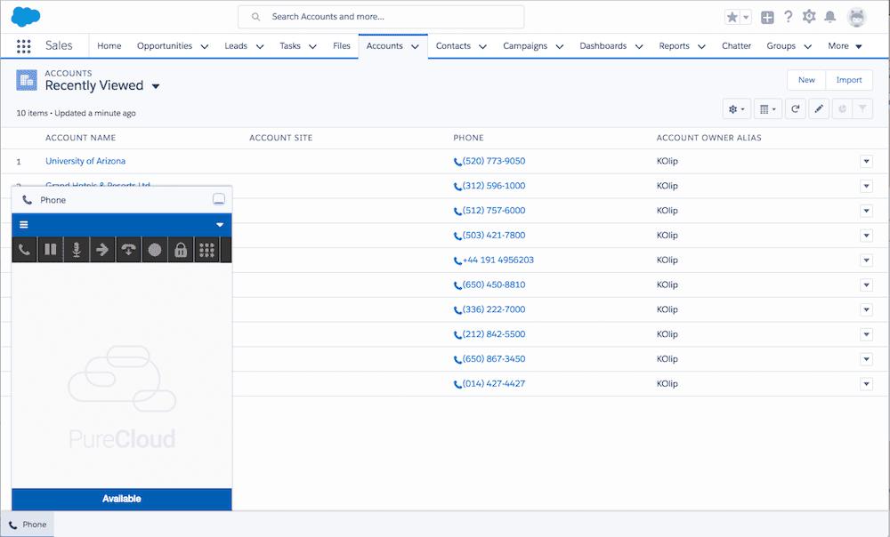Genesys Salesforce Integration