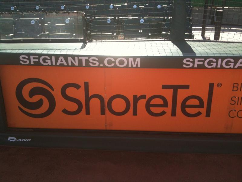 ShoreTel & the SF Giants