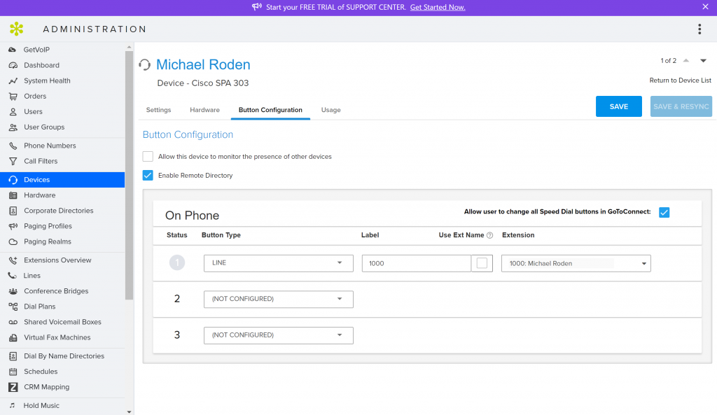 GoToConnect Admin Button GetVoIP News