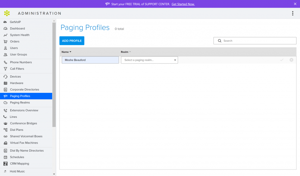 GoToConnect Paging Profiles & Realm Feature GetVoIP News