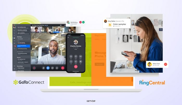 GoToConnect vs RingCentral: Pricing, Features, Pros & Cons