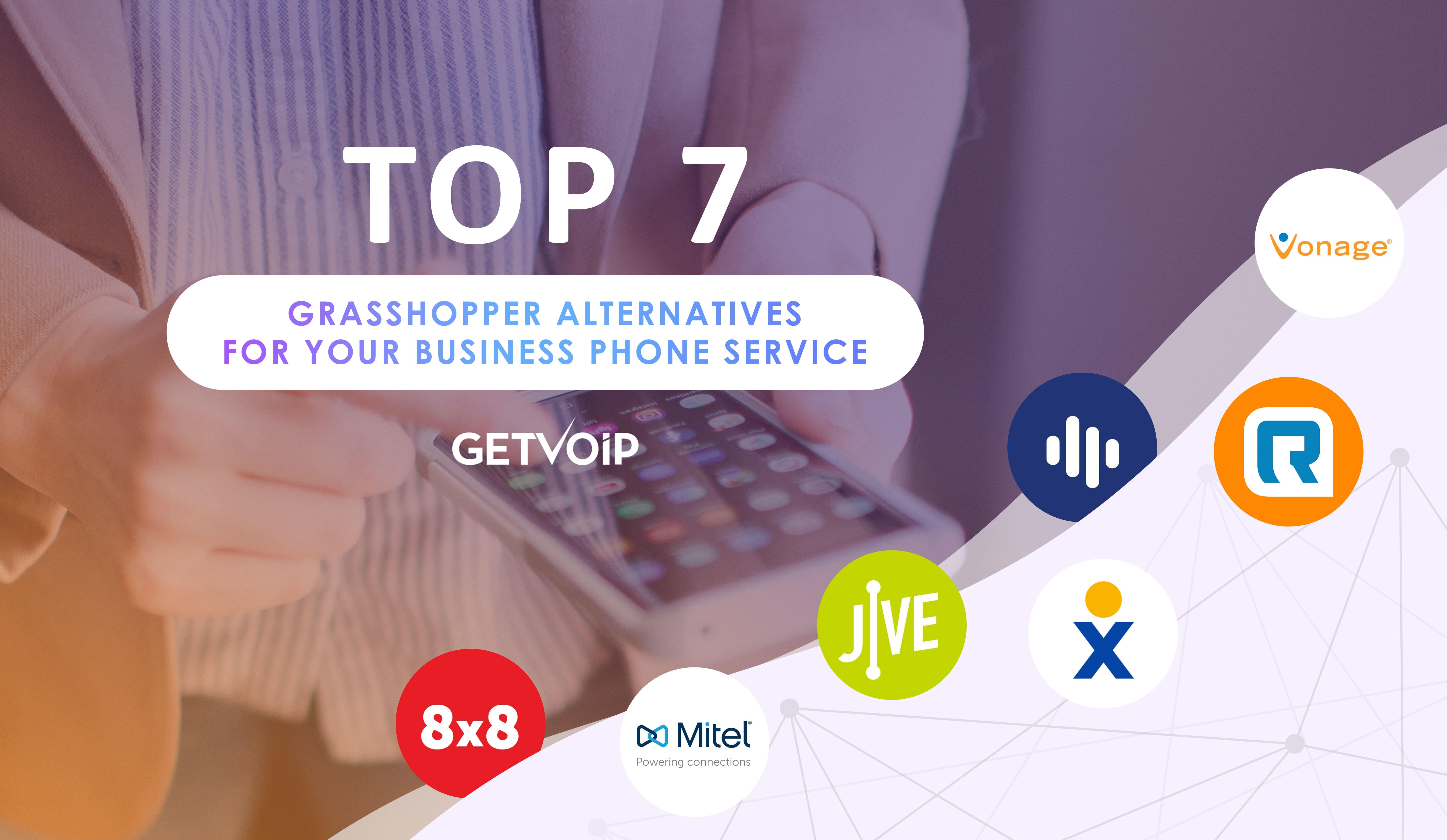 Top 7 Grasshopper Alternatives For Your Business Phone Service