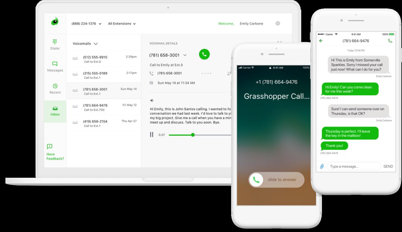 Grasshopper mobile access - iOS, Android, desktop