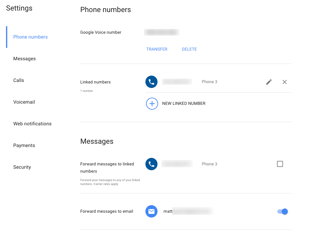 Google voice was finally updated heres what its like now getvoip overall its a really simple design that doesnt feel too empty at this point we all recognize google using lots of white space just look at the standard kristyandbryce Choice Image