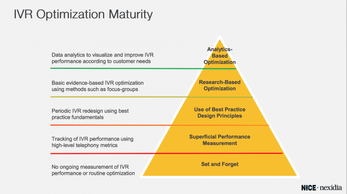 IVR Optimization Maturity