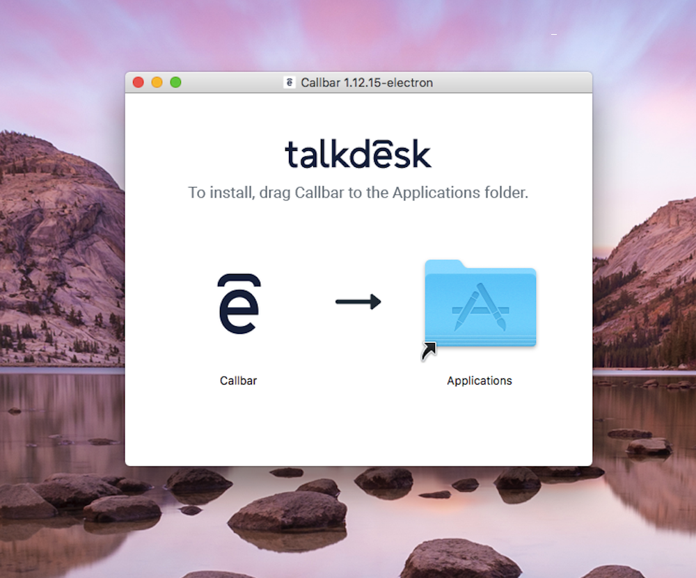Install callbar mac