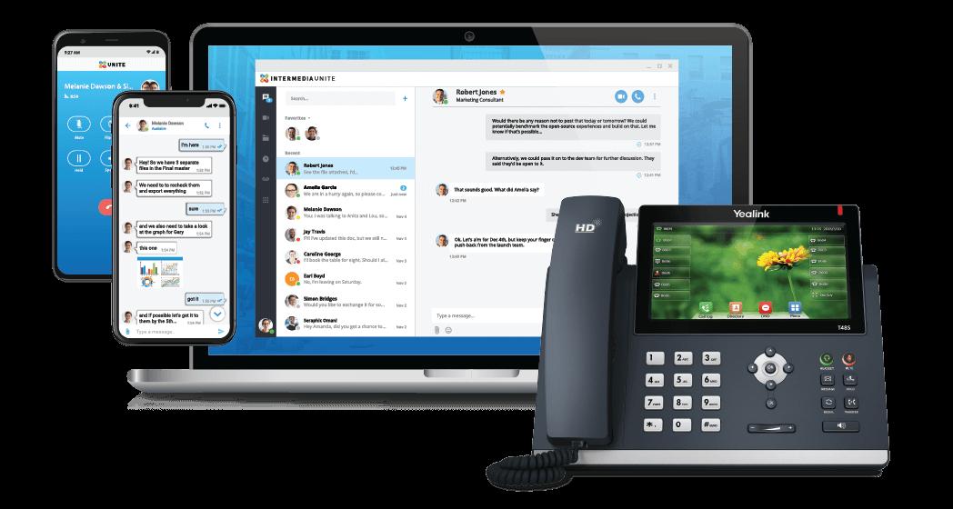 Intermedia Unite Phone System