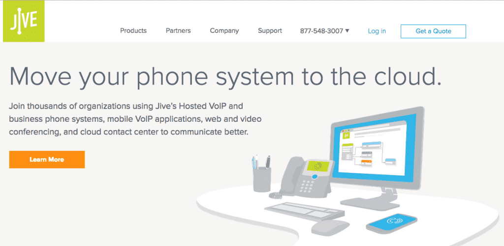 Jive: Move your phone system to the cloud