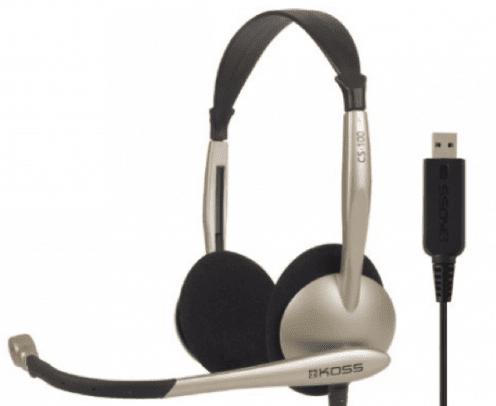 Koss CS100 call center headsets