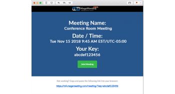 Meeting Invitations
