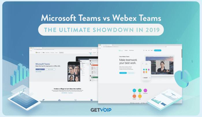 Microsoft Teams vs Webex Teams: The Ultimate Showdown in 2019