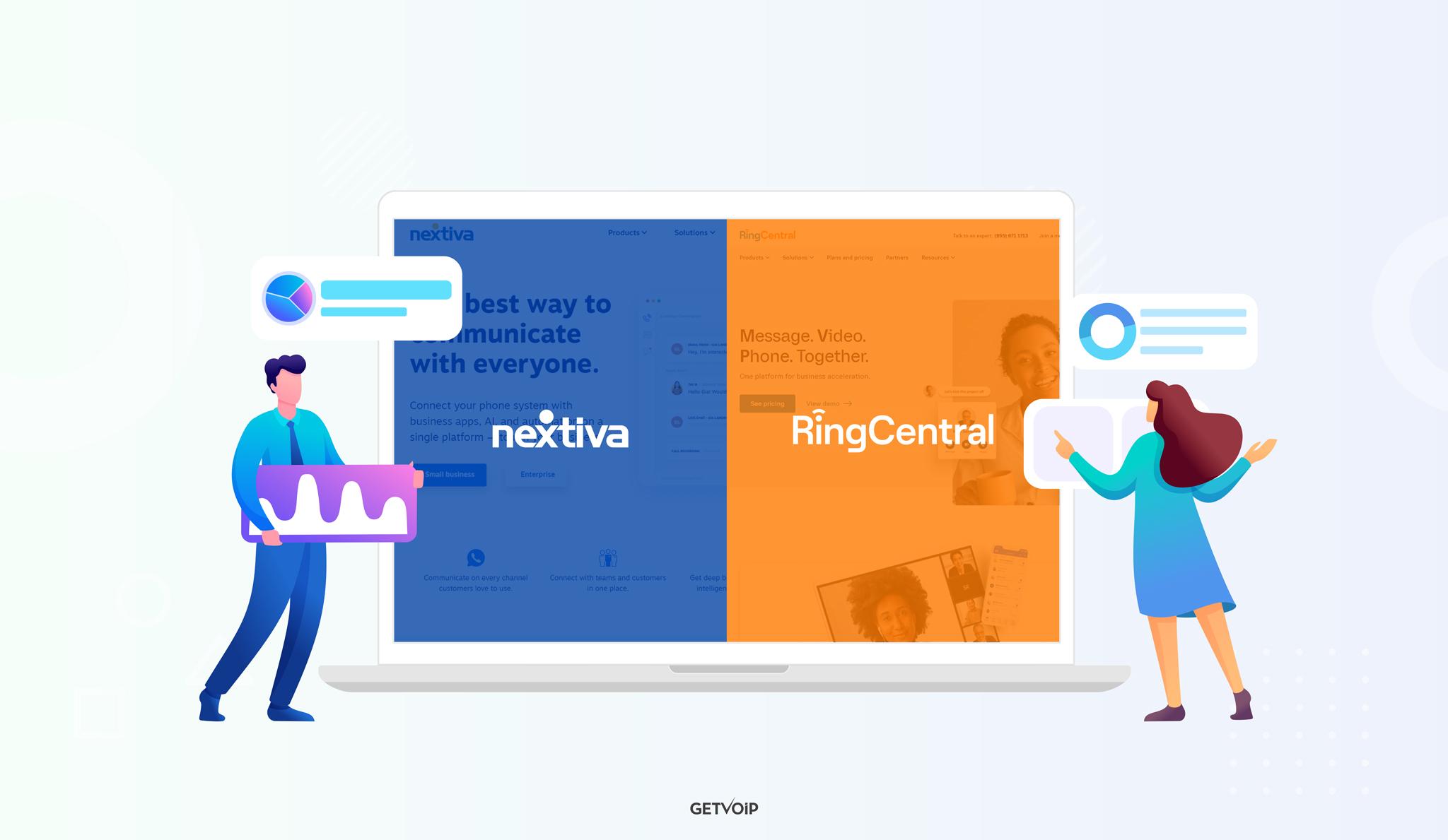 RingCentral vs Nextiva — Ultimate Comparison 2021