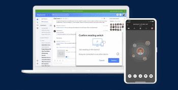RingCentral Desktop App Meeting Switch