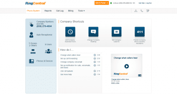 RingCentral Admin Portal Overview