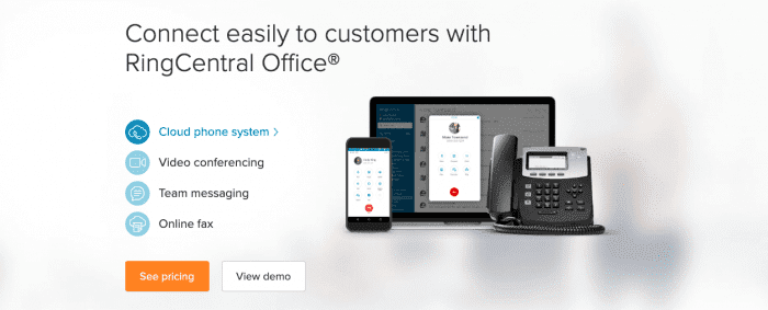RingCentral Office Pricing