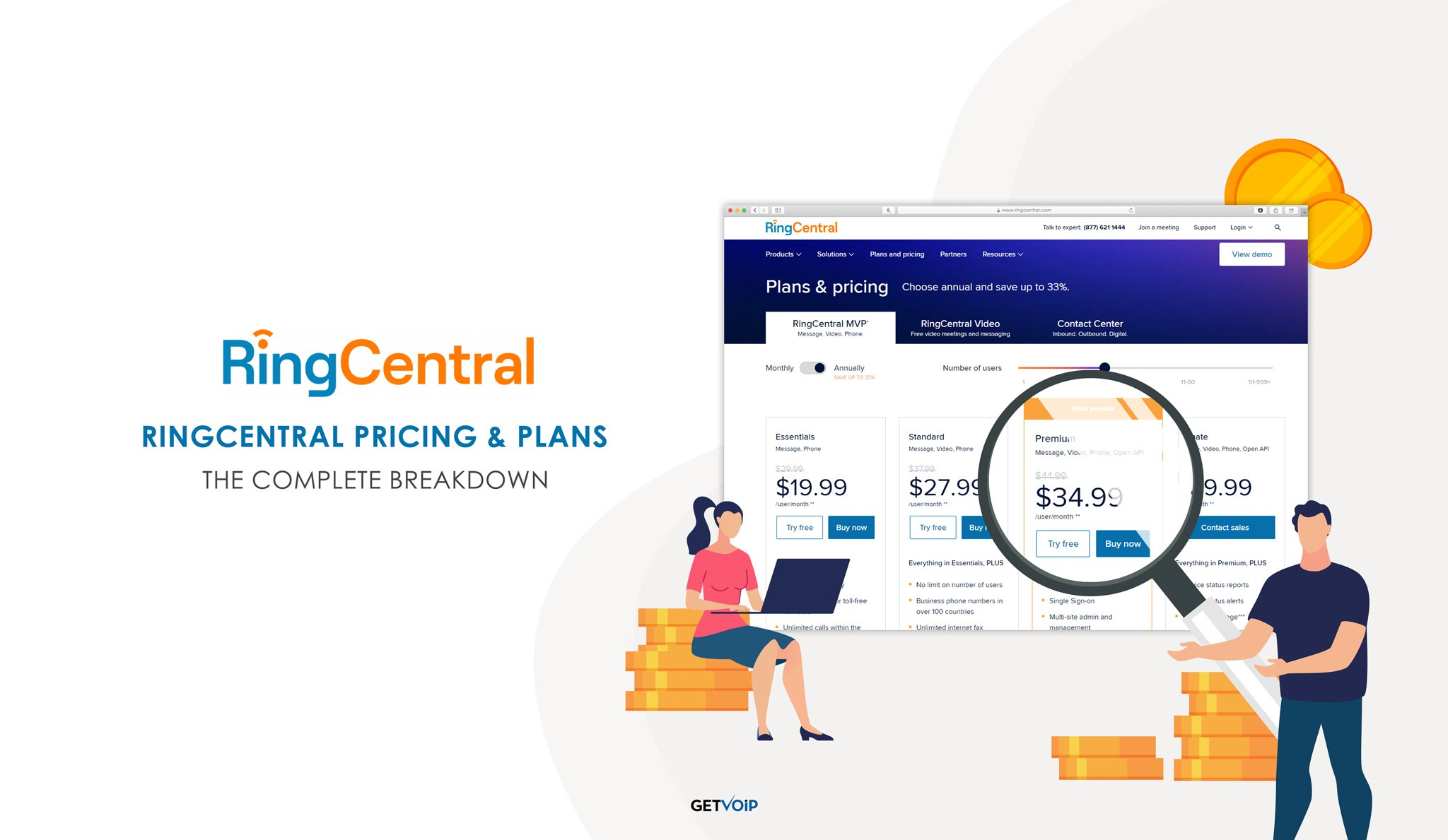 RingCentral Pricing & Plans in 2021: The Complete Breakdown