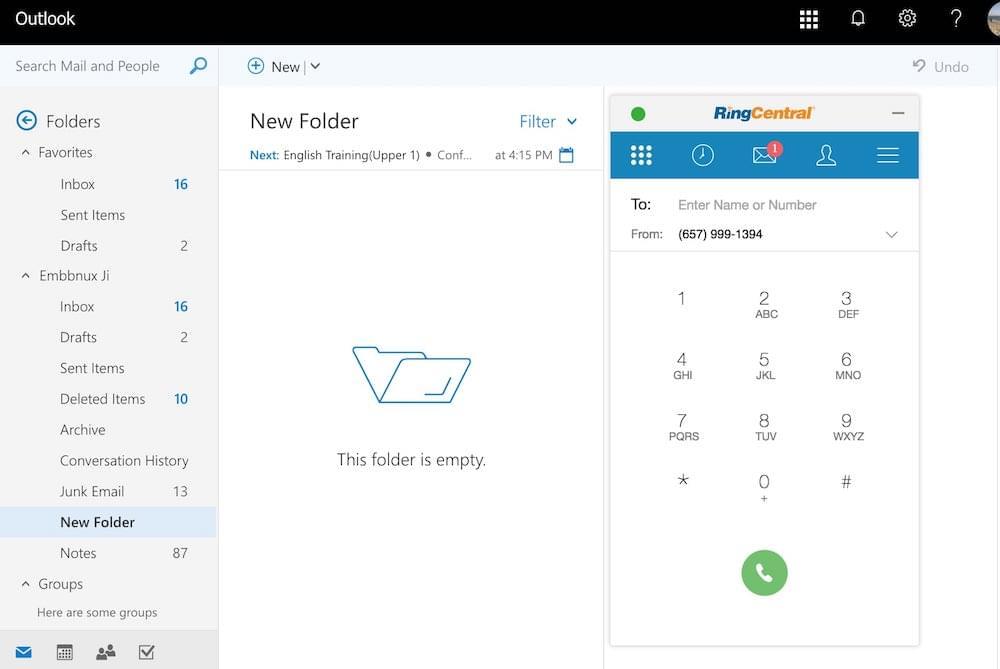 RingCentral Softphone App
