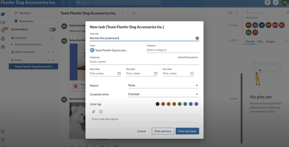 RingCentral Collaboration