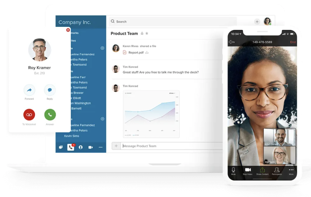 RingCentral video conferencing