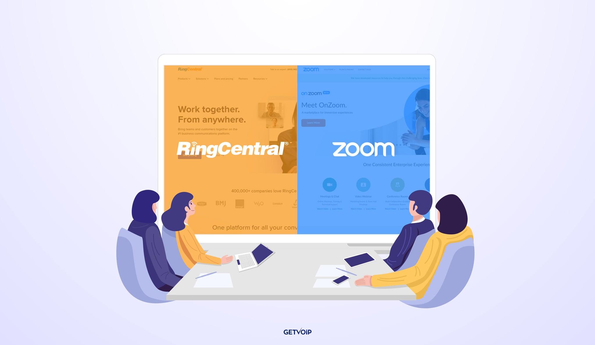 RingCentral vs Zoom: 2021 Comparison