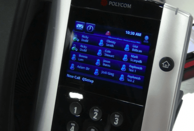 Dropdown Changes Made on the RingCentral App Immediately Reflected on the Polycom VVX500