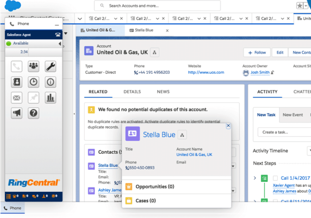 Ringcentral ACD