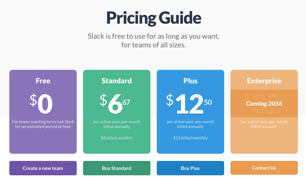 slack-pricing